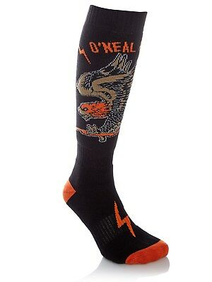 ONeal Black-Orange 2018 Pro Eagle MX Socks