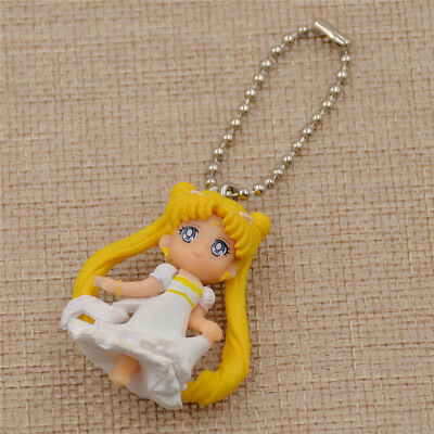 Sweet Sailor Moon Keychain Wedding Pincess Figure Accessories Pop Anime Gifts