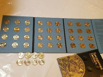 Complete 40 Coin Collection UNC! 2000-2019 P&D Sacagawea Native American Dollars