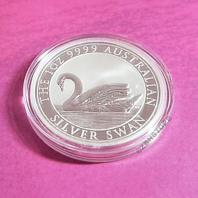 2017 Australia Silver Swan 1 Ounce .9999 Silver Coin BU ~ 25,000 Limited Mintage