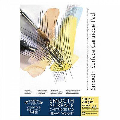 Winsor & Newton Cartridge Pad - Smooth - 220gsm - A5