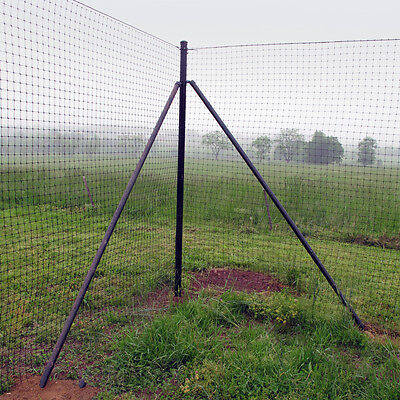 6' H Deer Fence Heavy Corner System - 2 Pack