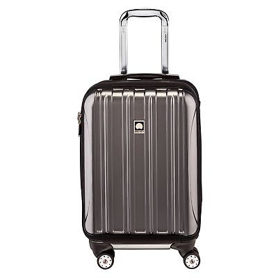 Delsey Luggage Helium Aero International Carry On Expandable Spinner Trolley ...