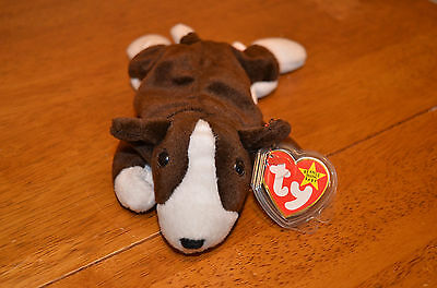 0e0a70ad15f TY Beanie Baby Retired 1997 Bruno Used with 2 Errors