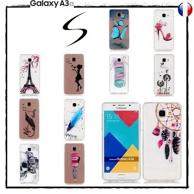 Etui housse coque Transparente Soft TPU Case Cover Samsung Galaxy A3 2016 A310
