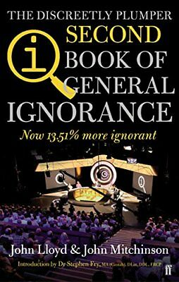 QI: The Second Book of General Ignorance New Paperback Book John Lloyd