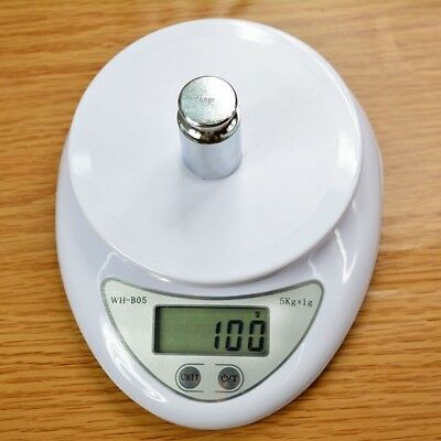 5Kg/1g Digital LCD Kitchen Electronic Weight Scale