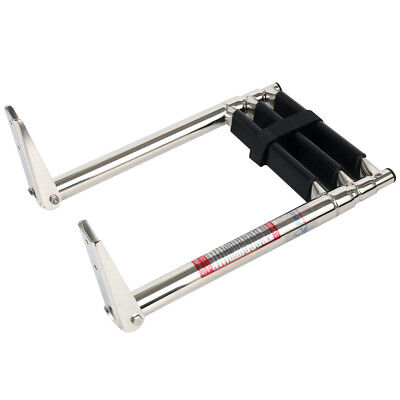 3 Step Stainless Steel Telescoping Boat Ladder Swim Step Fast Ship Best Price