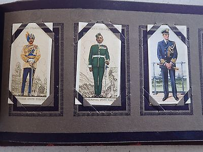 Cigarette Cards in Picture Album Assorted Lot.