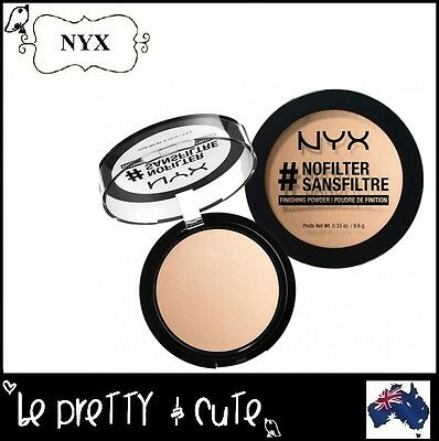NYX #NOFILTER FINISHING POWDER NFFP All 15 Colours to choose from - Free Au Ship