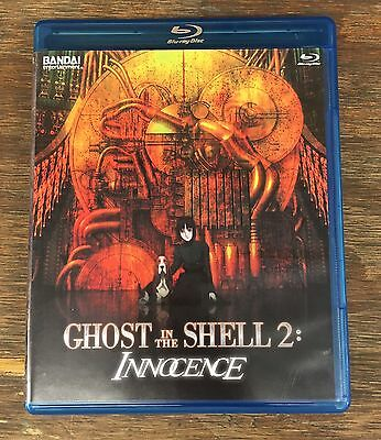 Ghost In The Shell 2 Innocence Bandai Entertainment Blu Ray DVD RARE Anime Disc