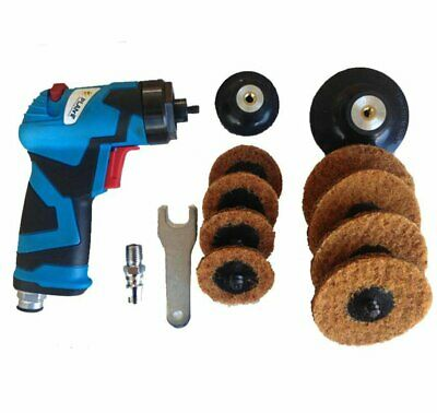 Planit Roloc Pistol Disc Air Angle Sander 2'' & 3'' 75mm Grinder Paint Panelbeat