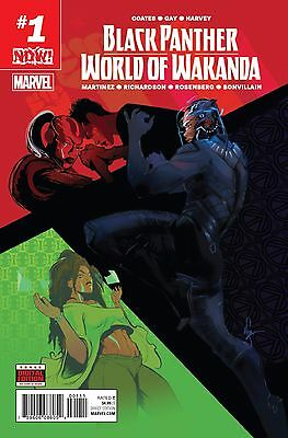 BLACK PANTHER WORLD OF WAKANDA #1 1st print Standard Marvel Comics Now NM 2017