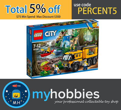LEGO 60160 City Jungle Mobile Lab Brand New and Sealed