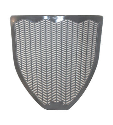 Urinal Mat Gry Scntd