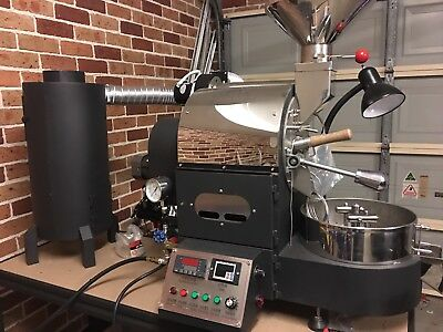 A Brand New Syd Stock 1kg LPG coffee bean roaster, Coffee Bean Roasting Machine