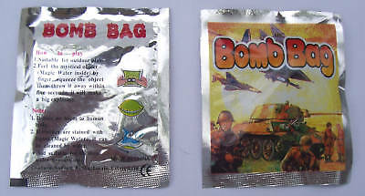 50 Bomb Bags No Smell Magic Tricks Party Favour Prank Gag Joke Novelty Funny