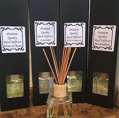 Premium Quality Reed Diffuser 140ml Gift Boxed Choose Your Fragrance