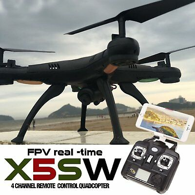 X5SW-1 6-Axis Quadcopter Drone Real Time WIFI Camera 2MP FPV VR Helicopter UK RC