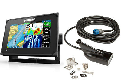 Simrad Echo/GPS multi-touch GO-7 XSE mit DownScan Geber 000-12674-001 #62600072