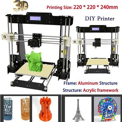 Anet A8 DIY Upgraded Full Quality High Precision Filament 3D Printer MK8 LCD
