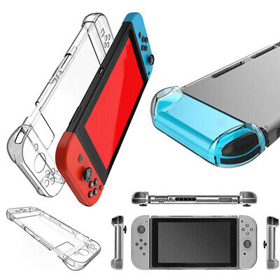 Transparent Crystal Clear Protective Hard Case Cover Skin For Nintendo Switch NX