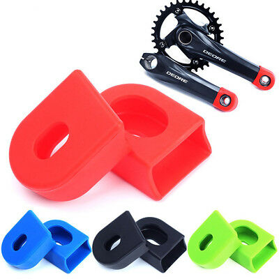 Covers Durable Crank Arm Protector Bike Protective Sleeve Silicon Crankset