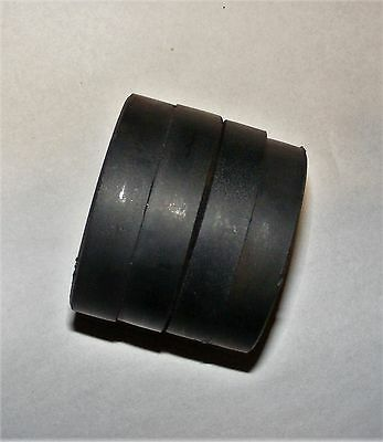 4pcs 60mmx10mm Hole:19mm Black Strong Round Disc Magnet/Ferrite Magnets