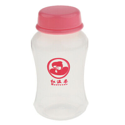 150Ml Breast Milk Collection Storage Bottle Containers With Lid Pink