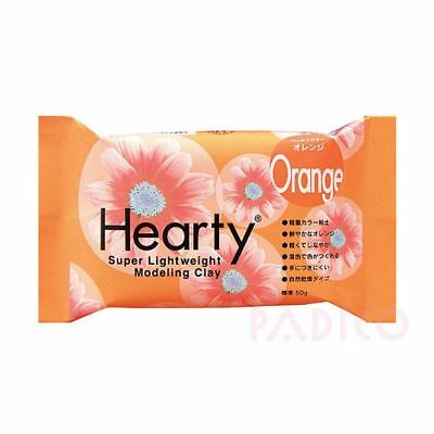 Katy Sue Hearty Soft Orange Air Drying Modeling Paper Craft Clay - 50g Pack