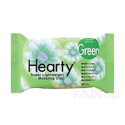 Katy Sue Hearty Soft Light Green Air Drying Modeling Paper Craft Clay - 50g Pack