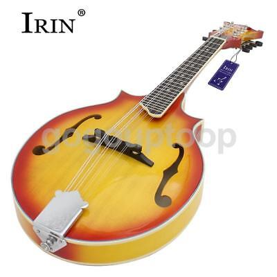 Durable 8-string Spruce Mandolin with Cotton Bag Sunburst