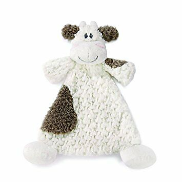 """Cow Security Blanket Nat and Jules Cozies Moozer NEW Baby Safe Size: 12""""/30cm lo"""