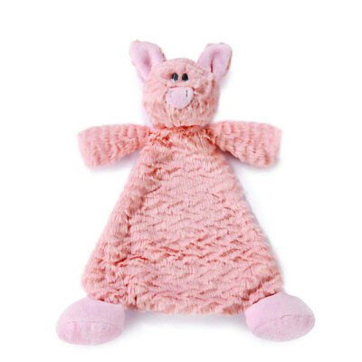 """Pig Security Blanket Nat and Jules Cozies Pudder NEW Baby Safe Size: 12""""/30cm lo"""