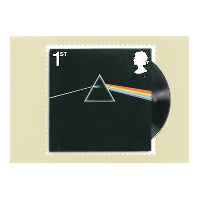 Pink Floyd – The Dark Side Of The Moon Album Cover - Royal Mail Phq 417 Postcard