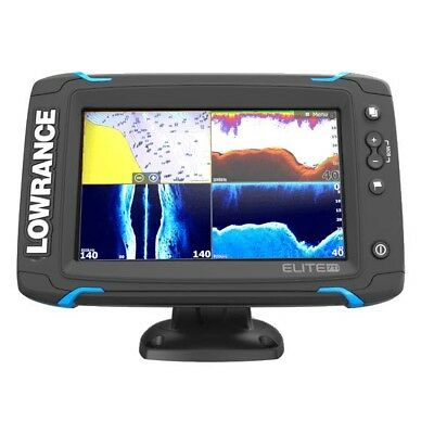 Lowrance Eco/GPS Elite-7Ti with TotalScan Skimmer 000-14518-001 #62120172-2