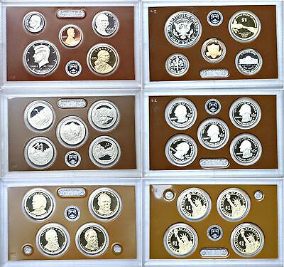 2011-S US Mint Issued 14 Coin Proof Set OGP W/COA