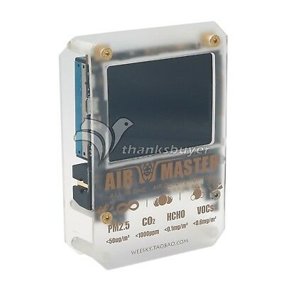 AirMaster 2 AM7 Plus Master CO2 Laser PM1.0,PM2.5,PM10 Formaldehyde Air Testing