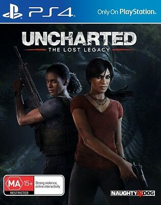 PREORDER - Uncharted The Lost Legacy  - PlayStation 4 game - BRAND NEW