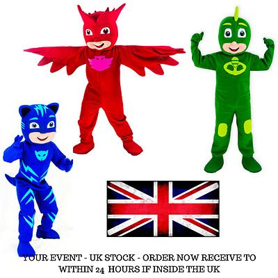PJ Mask Mascot Costume | Catboy Costume  | Full adult outfit | All styles