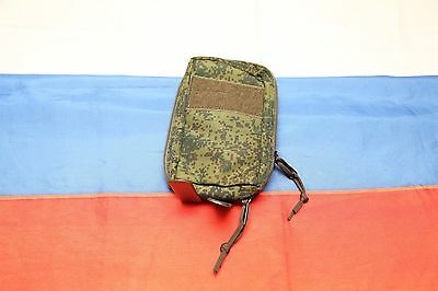 Russian army vertical utility tactical pouch digital flora EMR Techincom molle