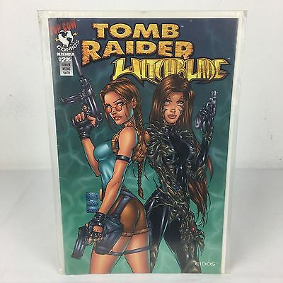 Withcblade / Tomb Raider Special Vol. 1, Issue 1 December 1997 TOP COW VGC