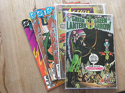 Lot Of Dc Comics, Warlord/action/neal Adams Green Lantern