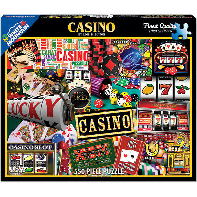 "Jigsaw Puzzle 550 Pieces 18""X24"" Casino WM1146"