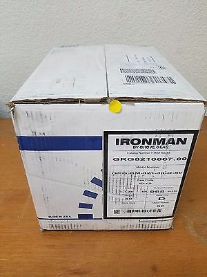 Ironman by Grove Gear reducer GRG8210067.00 ratio 30 motor frame 56