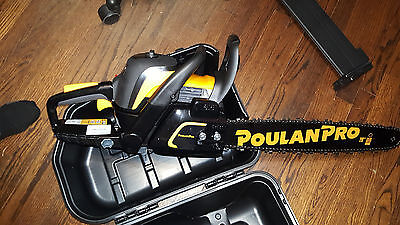 NEW POULAN PRO® Chainsaw 20 Inch Bar 50cc Gas Powered 2 Cycle Chain Saw  PR5020