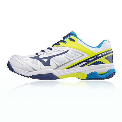 Wave Exceed CC, Chaussures de Tennis Homme, Multicolore (Strongblue/White/Dressblues 01), 45 EUMizuno