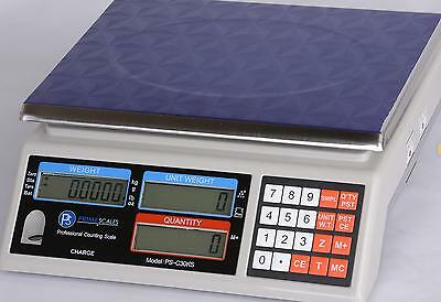 "Part Counting Scale 50 lb X 0.001 lb/ 20 kg x 0.5  g, Pan 11""x8.5"",  Brand New"