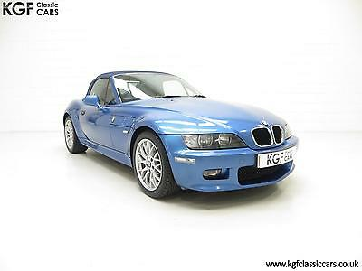 A Beautiful BMW Z3 2.2i Sport Edition Roadster with 64,863 Miles from New.