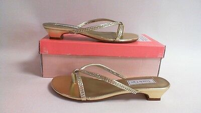 NEW: Touch Ups Wedding/ Evening Shoes - Gold- Ashley - US 7M UK 5 #37R152